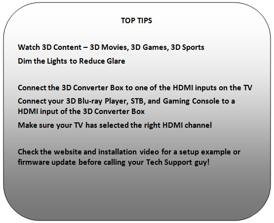 Rounded Rectangle: TOP TIPS 